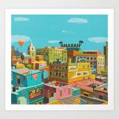 Habana Art Print