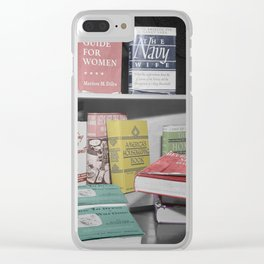 Home Economics Clear iPhone Case