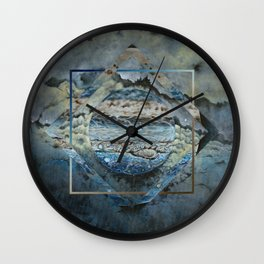 Jupiter Polyscape Wall Clock