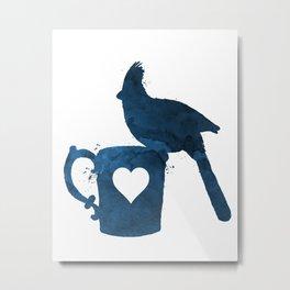 Cardinal (Bird) Metal Print