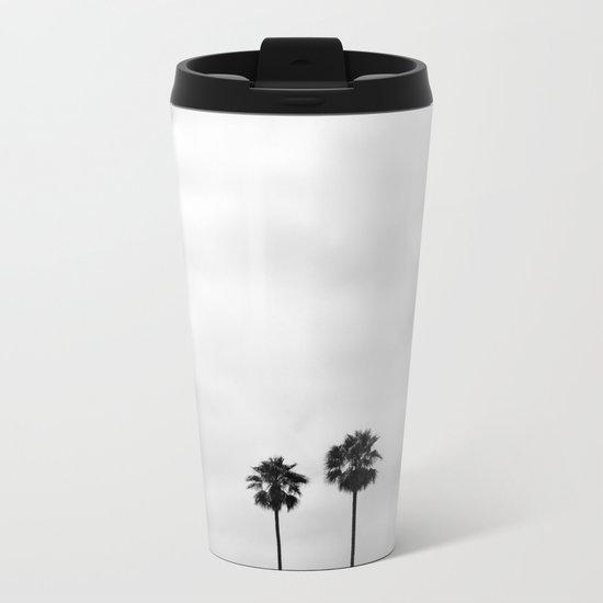 L.A. Palms Metal Travel Mug