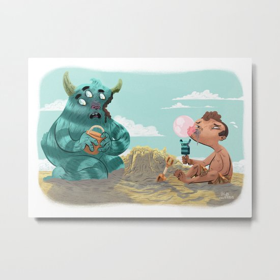 Death of the Imagination Metal Print