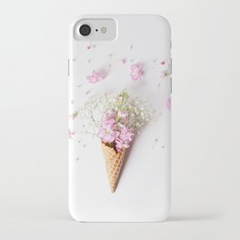 Stock Flower Cone iPhone Case