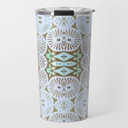 artisanal: tribal two Travel Mug