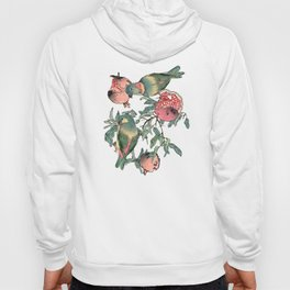 Pomegranate and Lovebirds Hoody