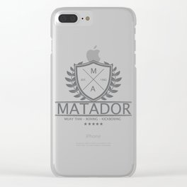 MATADOR 2019 COLLECTION Clear iPhone Case