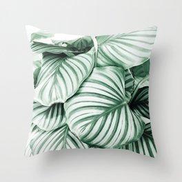 Long embrace Throw Pillow
