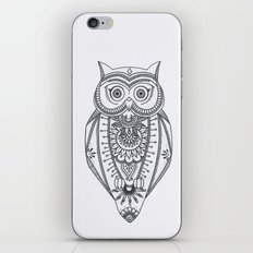 O W L - B&W iPhone Skin