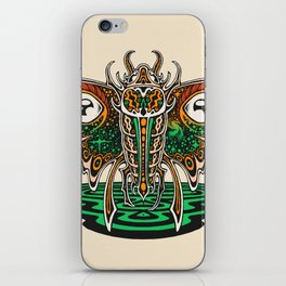 Cosmic Insect - Light iPhone Skin