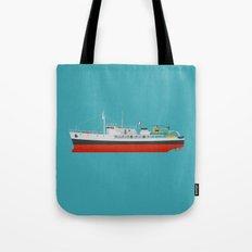 Captain Jacques' Boat Tote Bag