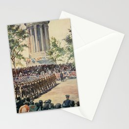 Lewis, Martin (1881-1962) - New York 1911 - Decoration Day Parade, Riverside Dve Stationery Cards