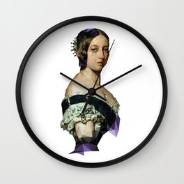 Queen Vicky Wall Clock