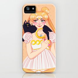 Usagi & Luna iPhone Case