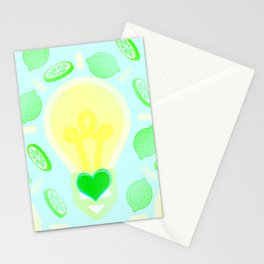 In The LimeLight Stationery Cards