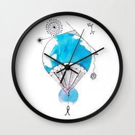 Viaje en Globo Wall Clock
