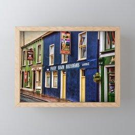 Paddy Bawn Brosnans Bar in Dingle Framed Mini Art Print
