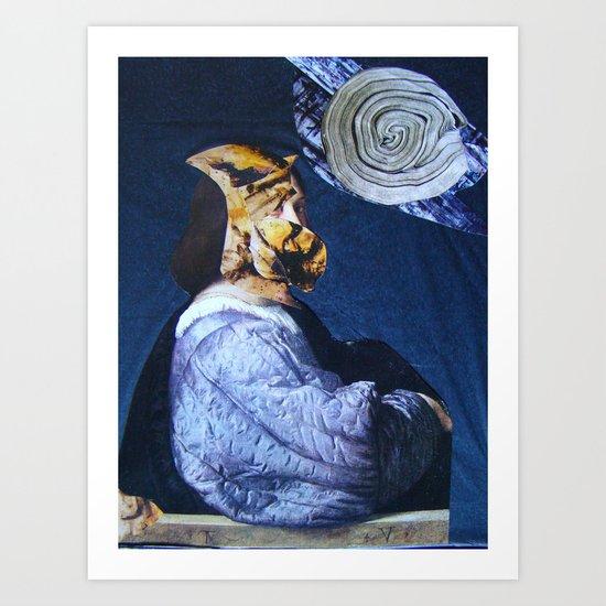 IL ROMANTICO SOMMERSO #1 Art Print