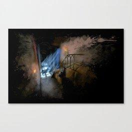 Castlevania: Vampire Variations- Hall Canvas Print