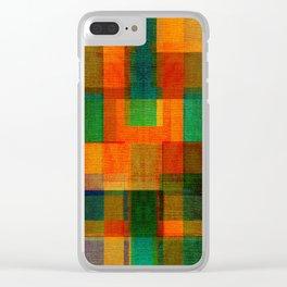 Decor colors - Clear iPhone Case