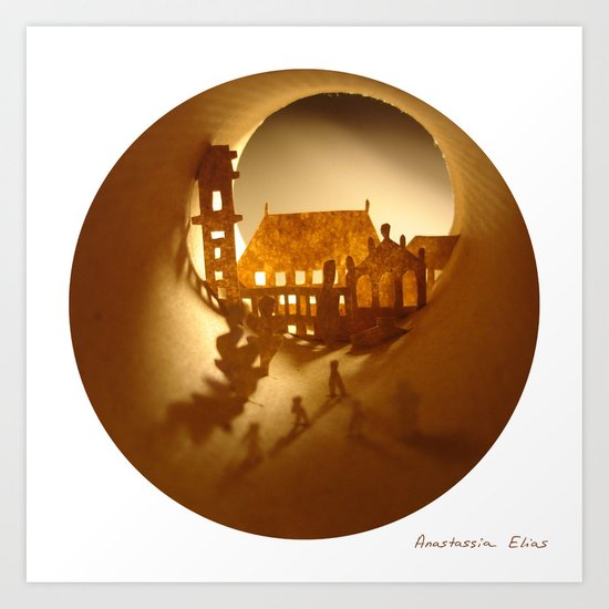 University of Coimbra (Université de Coimbra) Art Print