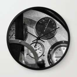 Vintage Car 6 Wall Clock
