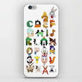 That's Alphabet Folks iPhone Skin