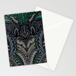 Polynesian Pattern Stationery Cards