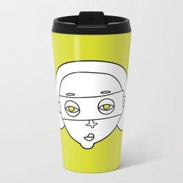 faces 03 Metal Travel Mug