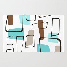 Midcentury Modern Shapes Rug