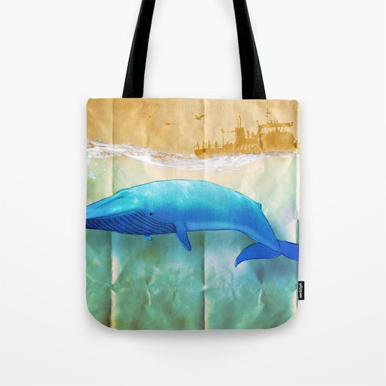 the beauty beneath _ humpback whale Tote Bag