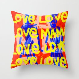 MamaLove Throw Pillow