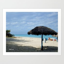 On Vacation Art Print