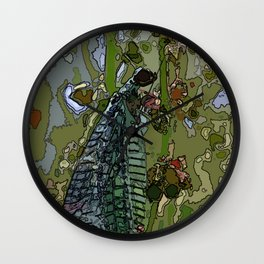 Damsel Fly Wall Clock