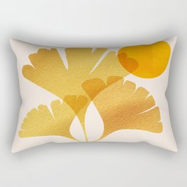 Abstraction_SUN_Ginkgo_Minimalism_001 Rectangular Pillow