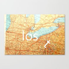 The Lost T Canvas Print