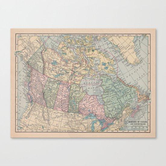 Oh Canada Canvas Print