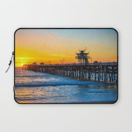 San Clemente Pier California United States Ultra HD Laptop Sleeve