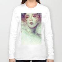 kpop Long Sleeve T-shirts featuring Swarm by Anna Dittmann