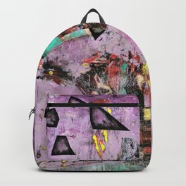 Dysfunction (oil on canvas) Backpack