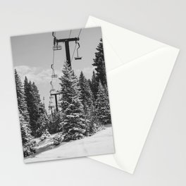 Chairlift to the Top Stationery Cards