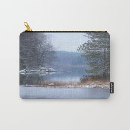 Blue Moment By The Lake Carry-All Pouch
