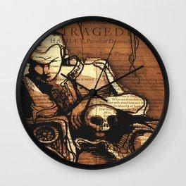 Hamlet Prince of Denmark Wall Clock