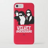 velvet underground iPhone & iPod Cases featuring VELVET UNDERGROUND R by zzglam