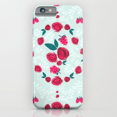 Roses & Berries Slim Case iPhone 6s