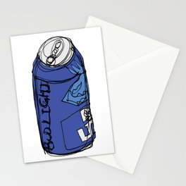 Bud Light Can Stationery Cards