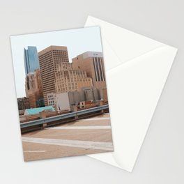 OKC Skyline Stationery Cards