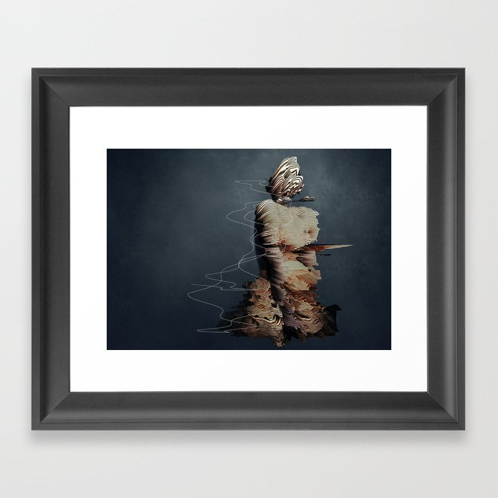 if Framed Art Print