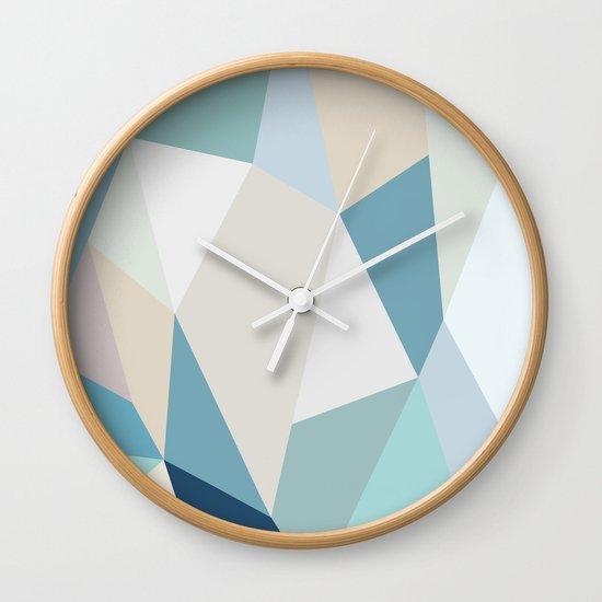 SPRING LOVE { BLUE } Wall Clock