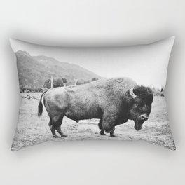 Alaska Bison Rectangular Pillow