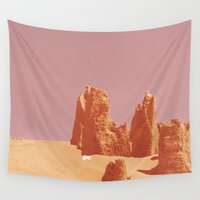 desert Wall Tapestries featuring Desert by CaptClare